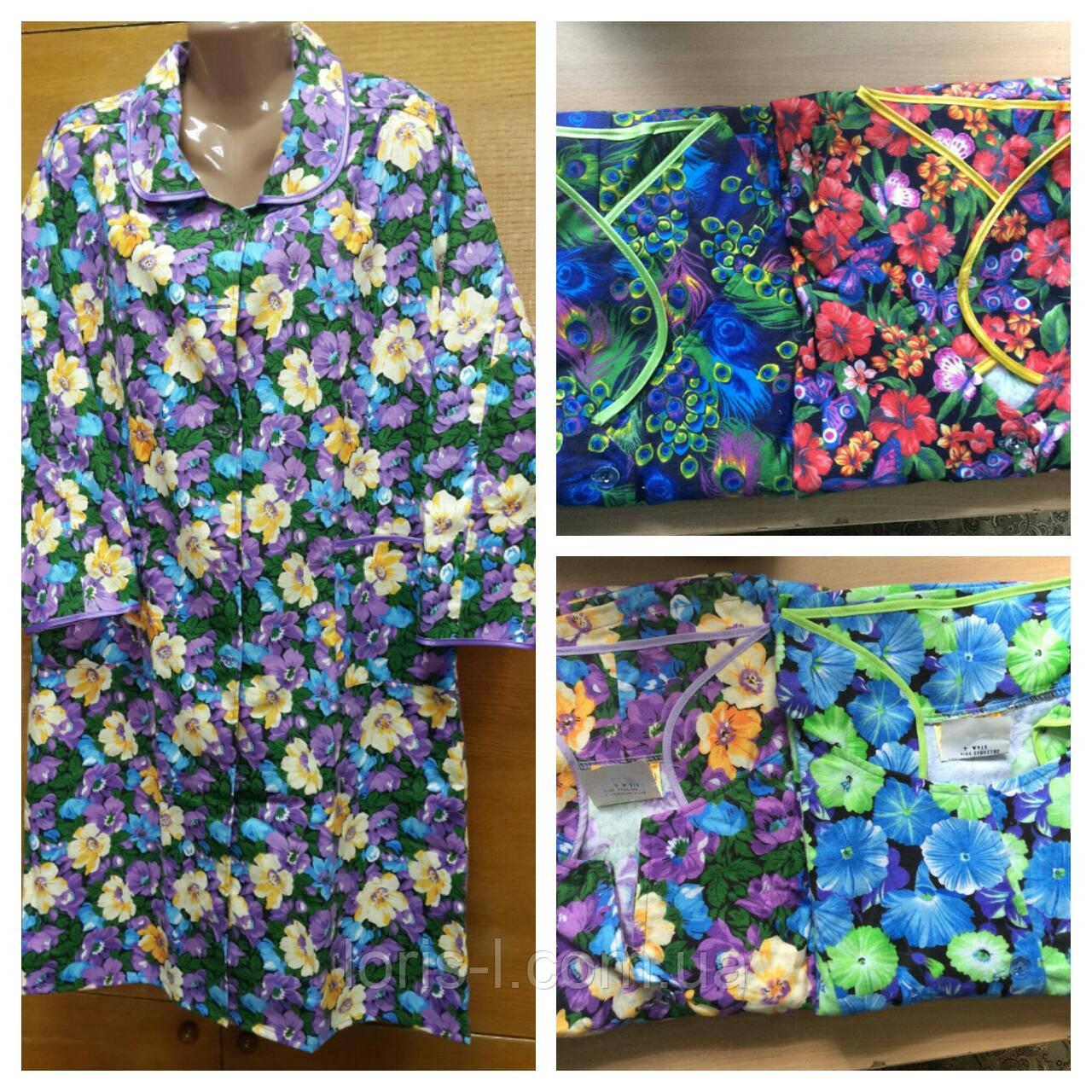9d5c2134c0c9 Байковые халаты на пуговицах - Интернет-магазин одежды для Всей семьи