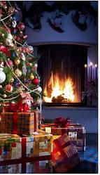 Обігрівач-картина інфрачервоний настінний ТРІО 400W 100 х 57 см, Новий рік