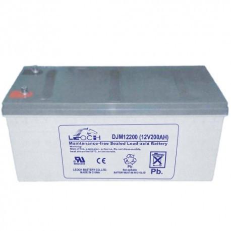 Аккумуляторная батарея Leoch Battery DJM 12-200 (12B/200Aч)