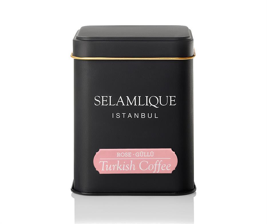 Турецкий кофе молотый Selamlique с розой 125 г