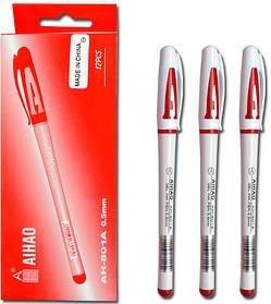 Ручка Гелевая  красная. АН-801А  AIHAO