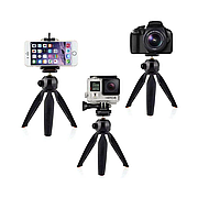 Штатив тренога для смартфона и камеры YUNGTUNG YT-228, штатив для селфи, тренога для телефона, трипод штатив