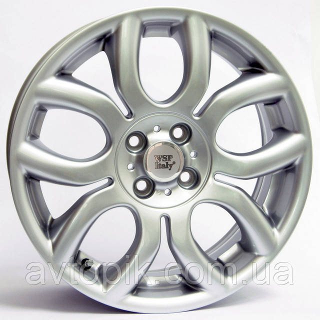 Литые диски WSP Italy Mini (W1650) Elena R15 W6 PCD4x98 ET35 DIA58.1 (silver)
