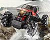 Трюковая машинка на радиоуправлении Monster Drift Stunt Car 4WD 1:16 с функцией ездить боком (Красная), фото 4