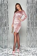 Платье женское красивое по фигуре в 3х цветах S-120, фото 1