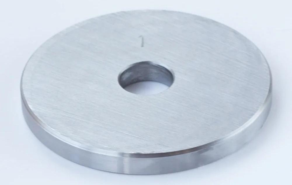 Блин диск для штанги или гантелей 1 кг металлический