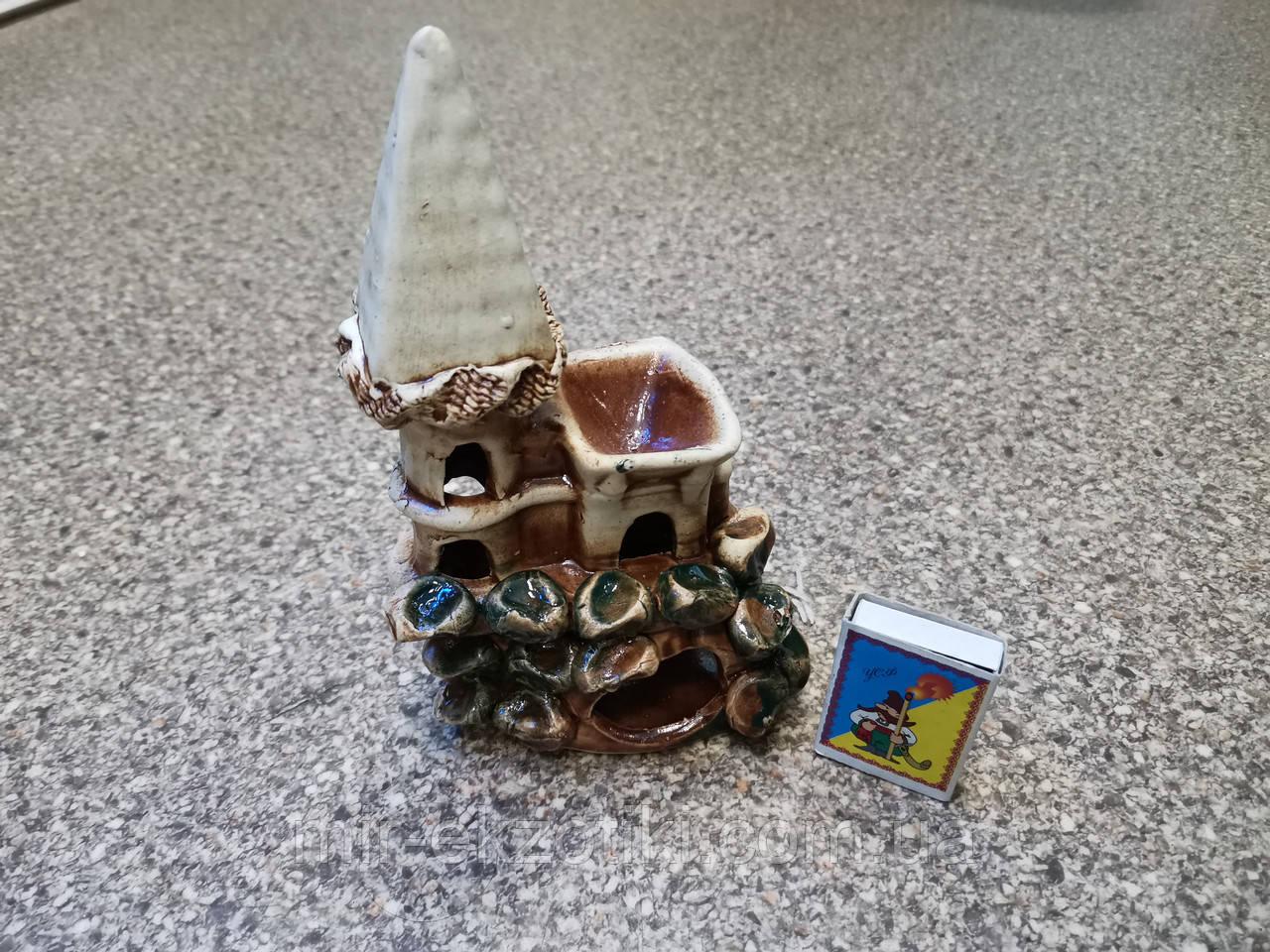 С85 Керамическая декорация для аквариума Ласточкино гнездо
