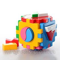 """Куб """"Умный малыш Логика-1"""" 2452 (00912) """"ТЕХНОК"""""""