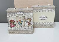 Кухонные полотенца Вафельные (ТМ Nilteks) хлопок 35*50 (3шт.) Турция
