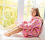 Халат Мишутка на девочку  Eirena Nadine (40-625) на рост 140 розовый, фото 6