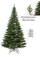Ель искусственная литая Ковалевская зелёная 1.50 м(150см), фото 1