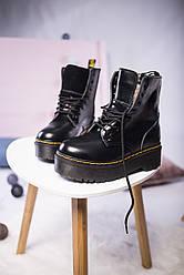 Женские ботинки Dr. Martens Platform с МЕХОМ ( Реплика )