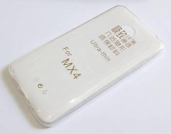Чехол силиконовый ультратонкий для Meizu MX4 прозрачный