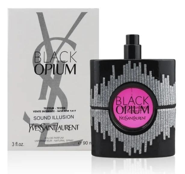 Tester женский YVES SAINT LAURENT Black Opium Sound Illusion EDP 90 мл