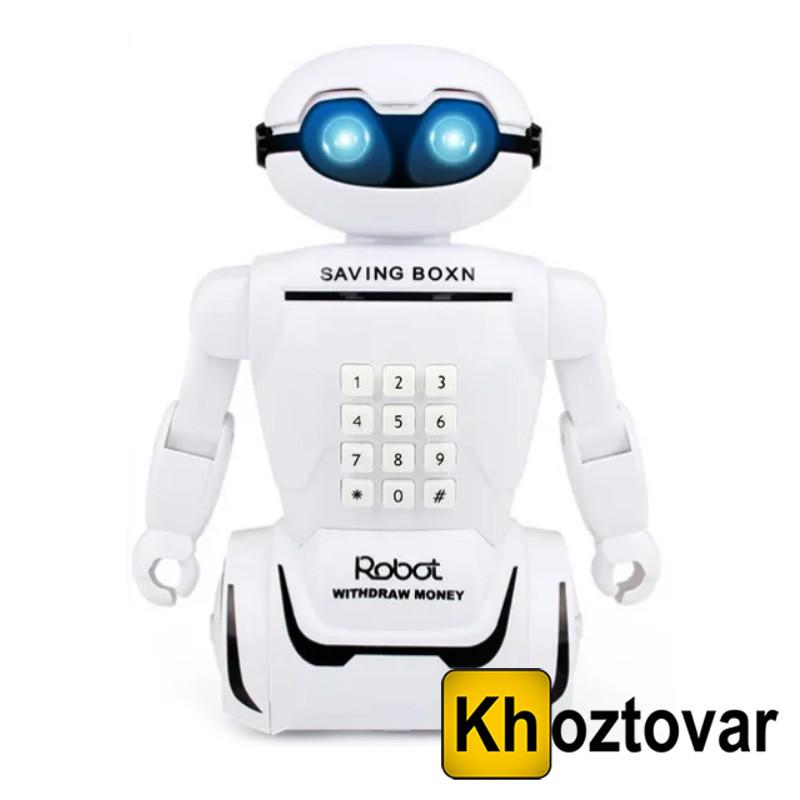 Электронная копилка робот с кодовым замком Robot Piggy Bank