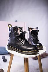 Женские ботинки Dr. Martens c МЕХОМ ( Реплика )