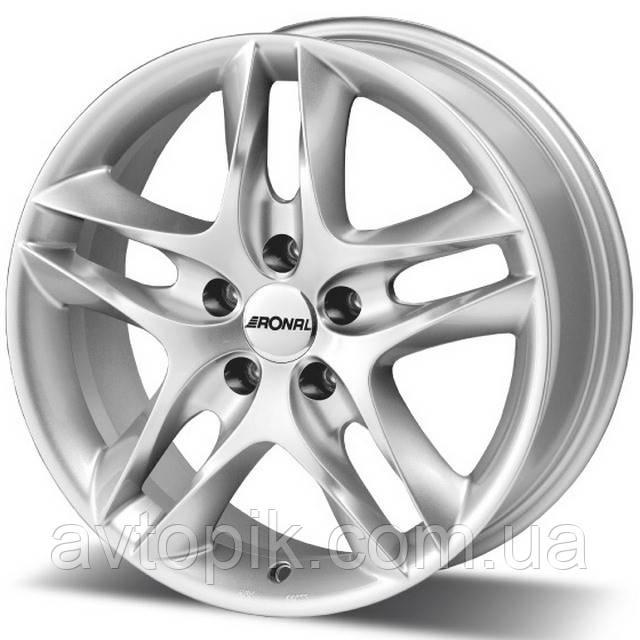 Литые диски Ronal LZ R15 W7 PCD5x110 ET37 DIA76 (silver)