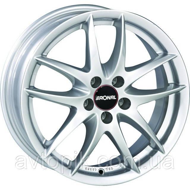 Литые диски Ronal R46 R16 W7 PCD5x98 ET35 DIA76 (silver)