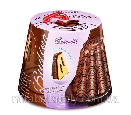 Кулич Bauli шоколадный,750 грамм