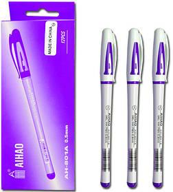 Ручка Гелевая фиолетовая. АН-801А   AIHAO