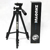 Штатив для фотоаппарата, проектора Zhuoyue ZY-334, 35-105см