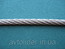 Нержавеющий трос, плетение 7х7, А4 (AISI 316).