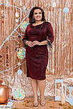 Стильное платье  (размеры 50-56) 0225-51, фото 2