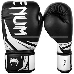 Боксерские перчатки Venum Challenger 3.0 Boxing Gloves Black White