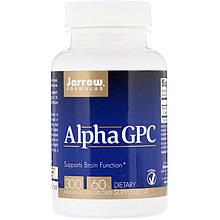 """Альфа (Глицерофосфохолин) Jarrow Formulas """"Alpha GPC"""" 300 мг (60 капсул)"""