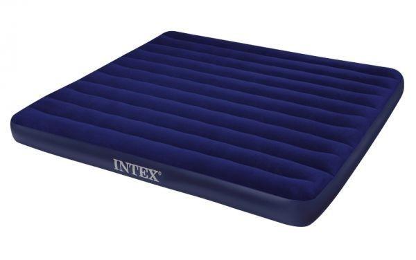 Матрас надувной INTEX 203 см х 183 х 22 см.