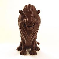 Статуэтка Лев коричневый (шоколадный)