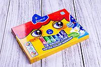 """Фломастеры толстые """"Marco-Jambo"""" №1632/12, 12 цветов, набор фломастеров для рисования на водной основе."""