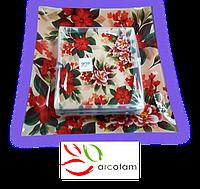 Набор квадратных тарелок  для суши ArcoFam 1510