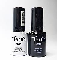 База и топ для ногтей Tertio, по 10мл