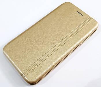 Чехол книжка Momax New для Meizu C9 / C9 Pro золотой