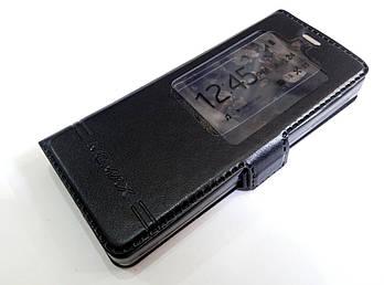 Чехол книжка с окошком momax для Nokia 515 черный