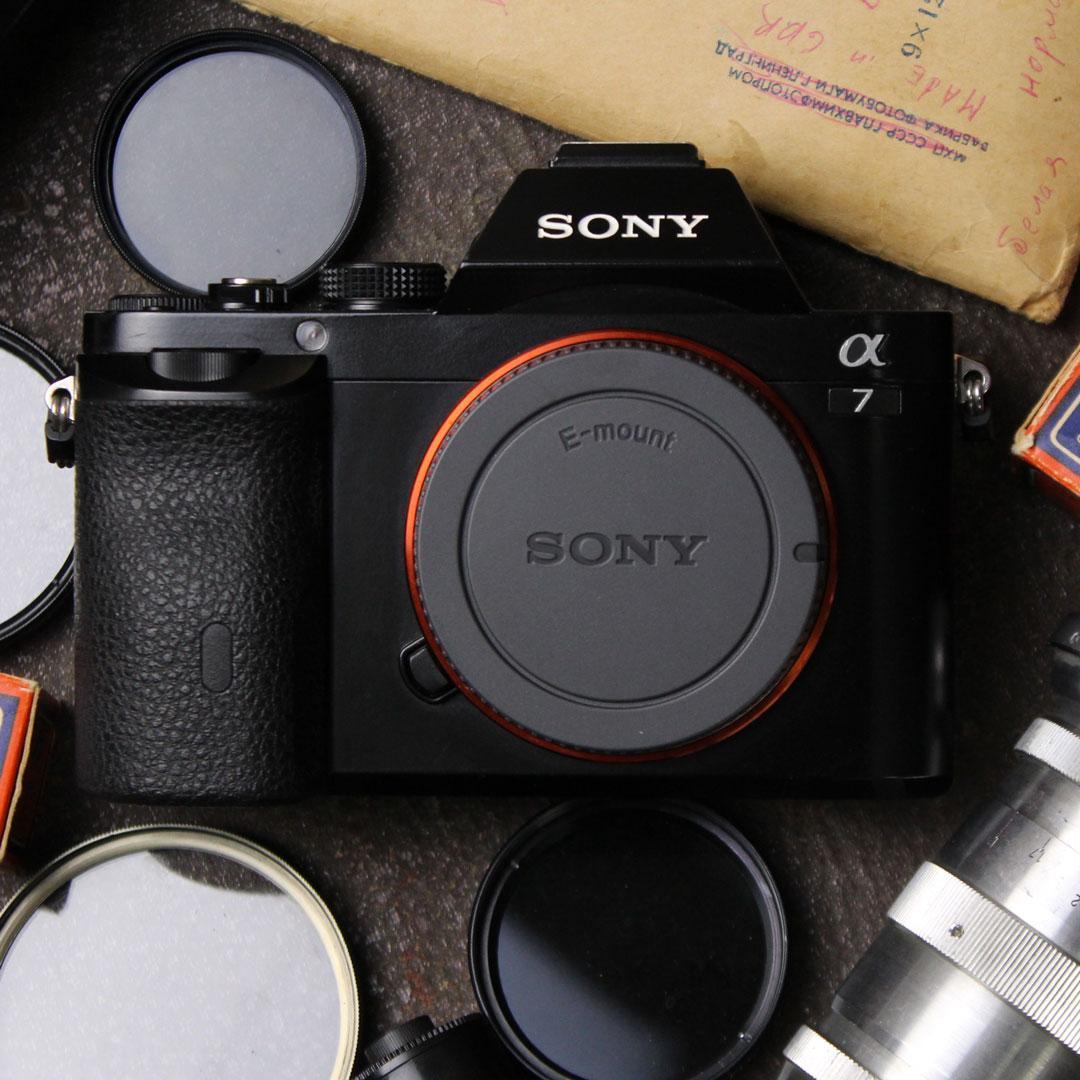 Большая уценка на Sony a7