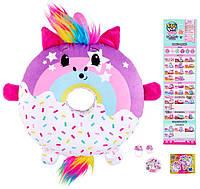 Пончик Единорог мягкая ароматная подушка игрушка Moose Pikmi Pops Unicorn