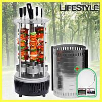 Электрошашлычница Domotec BBQ + ПОДАРОК!!! Кухонные весы Domotec, фото 1