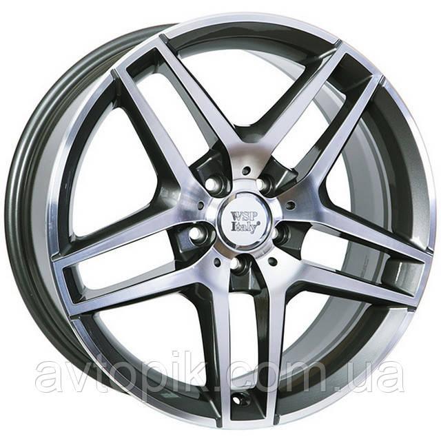 Литі диски WSP Italy Mercedes (W771) Enea R19 W8.5 PCD5x112 ET35.5 DIA66.6 (anthracite polished)