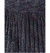 / Размер 42,44,46,48 / Женское элегантное нарядное платье с люрексом 1068Н-Синий, фото 4