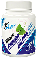 Гинкго Билоба Stark Pharm - Ginkgo Biloba Extract 40 мг (200 таблеток)