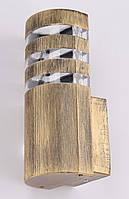 Настінний ліхтар (23х10х10 див.) Золото постарене YR-8021/1-bg-p