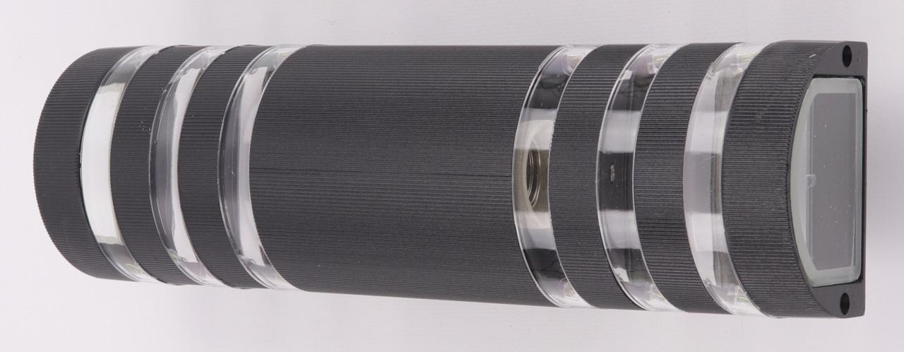 Фонарь настенный 8021/2-bk-p Черный 34х10х10 см.
