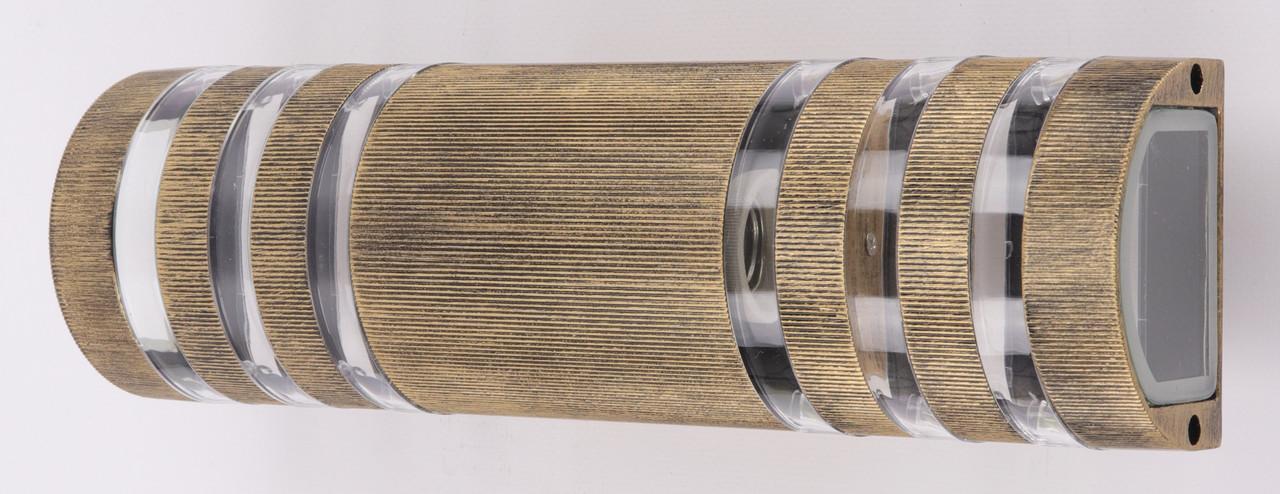 Фонарь настенный 8021/2-bg-p Золото 34х10х10 см.