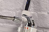Кран - бойлер (Проточный водонагреватель Delimano  с экраном / кран мгновенного нагрева воды / подкл. сзади), фото 4