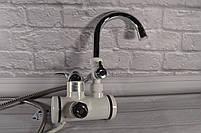 Кран - бойлер (Проточный водонагреватель Delimano  с экраном / кран мгновенного нагрева воды / подкл. сзади), фото 5