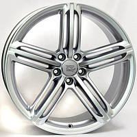 Литые диски WSP Italy Audi (W560) Pompei R19 W8.5 PCD5x112 ET32 DIA66.6 (silver)