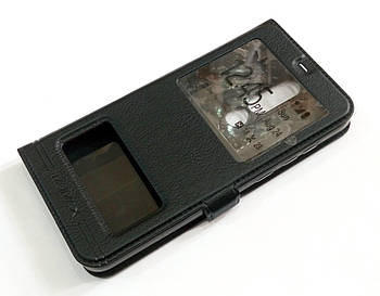 Чехол книжка с окошками momax для Nokia 5.1 Plus / Nokia X5