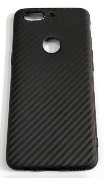 Чехол для OnePlus 5T силиконовый карбон